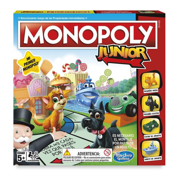 Monopoly Junior Board Game Hasbro