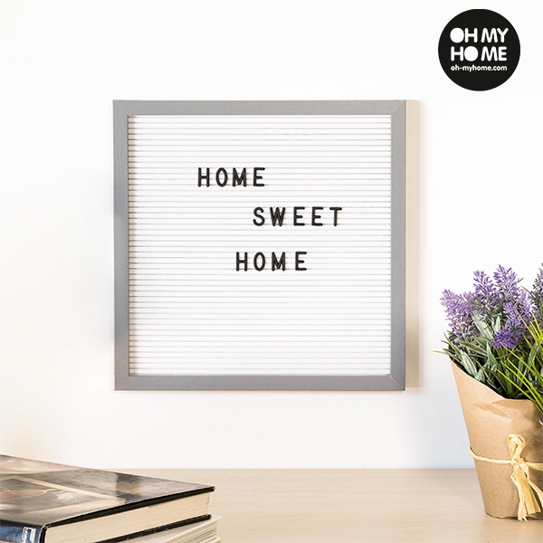 Oh My Home Frame for Letters and Numbers (30 x 30 cm)