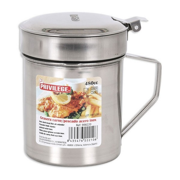 Oil pot for Meat or Fish Privilege Stainless steel