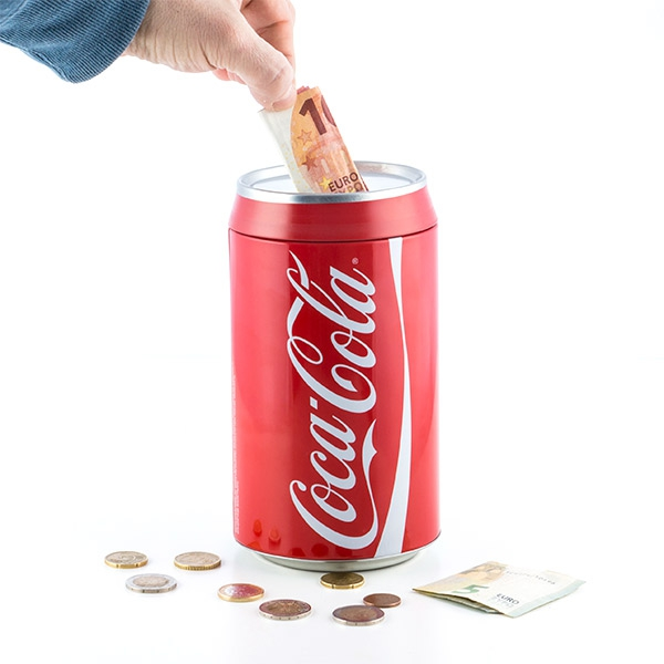 OUTLET Coca-Cola Money Box (No Packaging)
