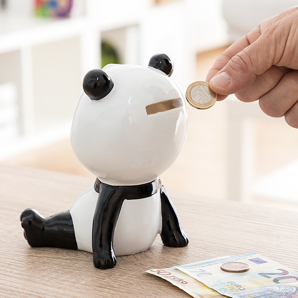 Panda Ceramic Piggy Bank