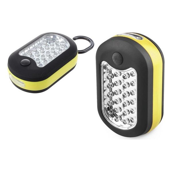 Pendant Lantern Bricotech LED Black Yellow