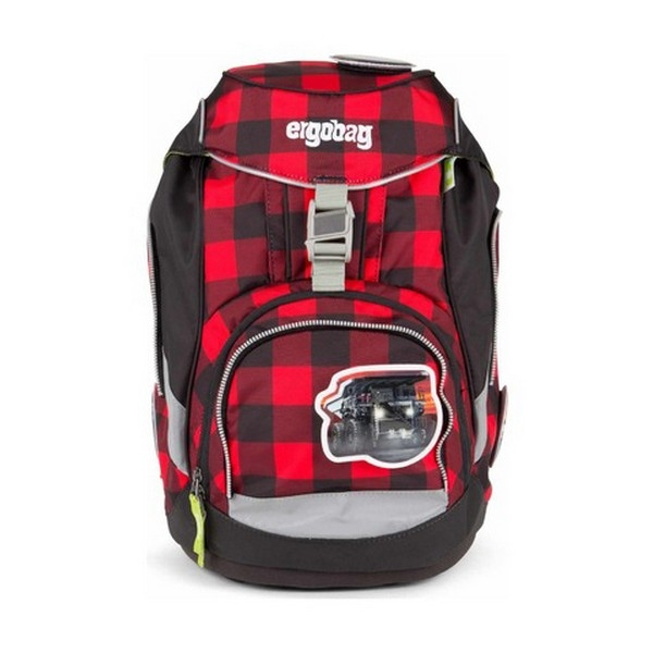 School Bag Eco Ergobag EBA-SIN-001-997 Red Black (25 X 22 x 35 cm)
