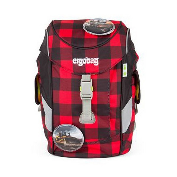 School Bag Eco Ergobag ERG-MIP-001-997 Red Black (30 X 20 x 17 cm)