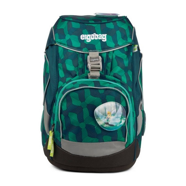 School Bag Eco Ergobag ERG-SET-002-9E4 (6 Pcs) Navy blue Green