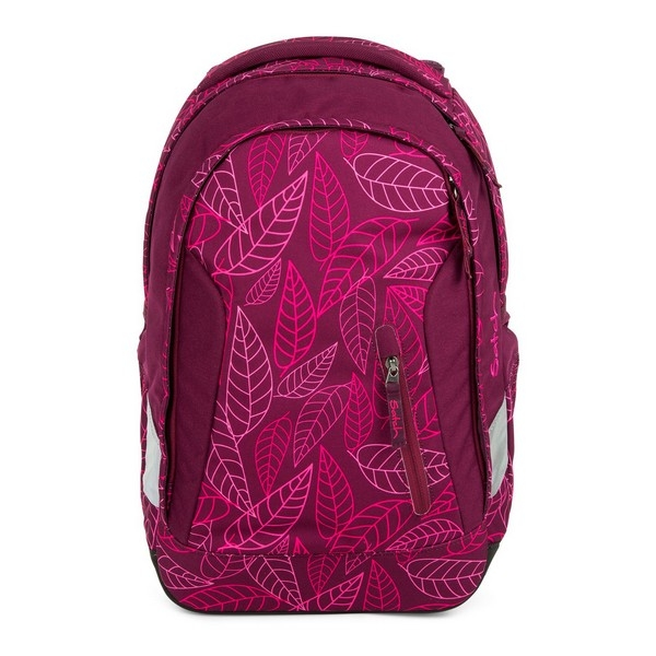 School Bag Eco Ergobag SAT-SLE-001-9H3 Sheets Fuchsia (45 X 15 x 27 cm)