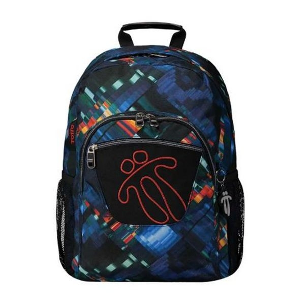 School Bag Totto Acuareles Black (44 X 35 x 14 cm)