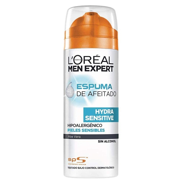 Shaving Foam Men Expert Hydra Sensitive LOreal Make Up (200 ml)