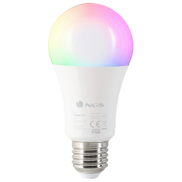 Smart Light bulb NGS Gleam727C RGB LED E27 7W