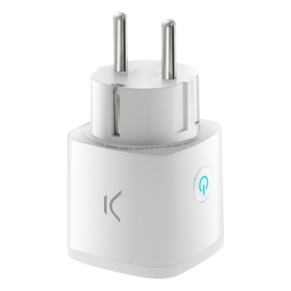 Smart Plug KSIX Smart Energy Mini WIFI 250V White
