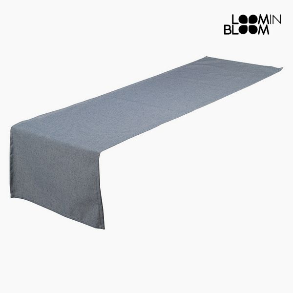 Table Runner Blue (40 x 13 x 0,5 cm) by Loom In Bloom