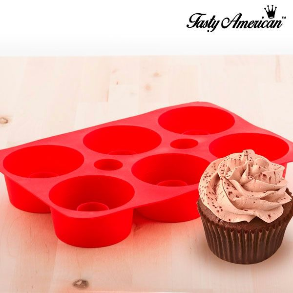 Tasty American Silicone Mould for Filled Cupcakes