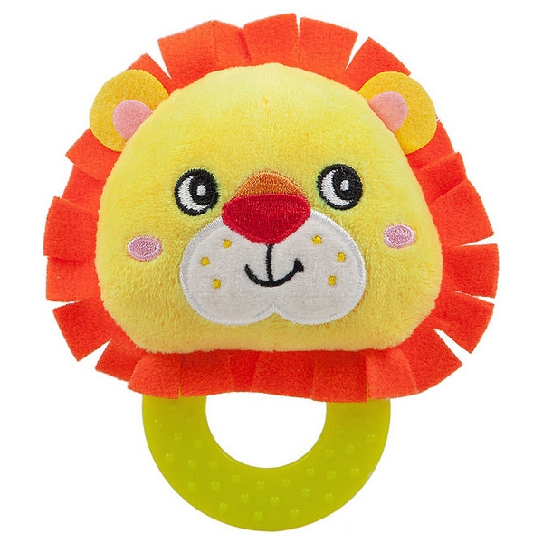 Teething Rattle for Babies Nenikos Lion +3m 112184