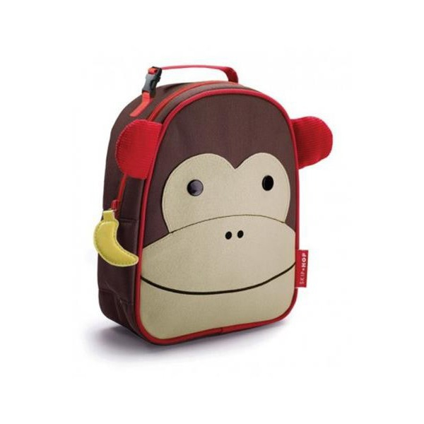 Thermal Lunchbox Nikidom Monkey Brown