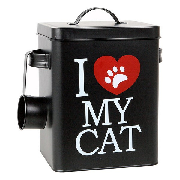 Tin of Cat Food 112818 Black (23 X 18 cm)