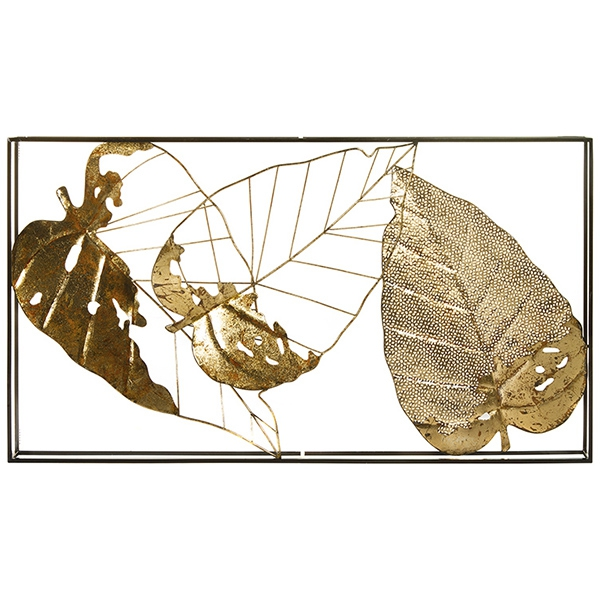 Wall Decoration Iron (50 X 5,5 x 36 cm)
