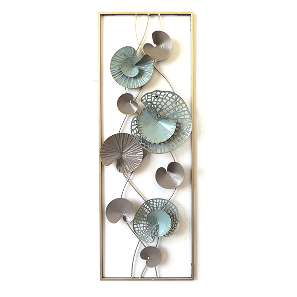Wall Decoration Water Lily (31 x 90 x 35 cm)