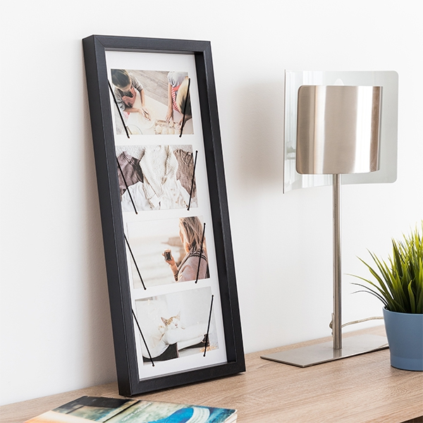 Wall photo frame Elastic Style (4 Photos)