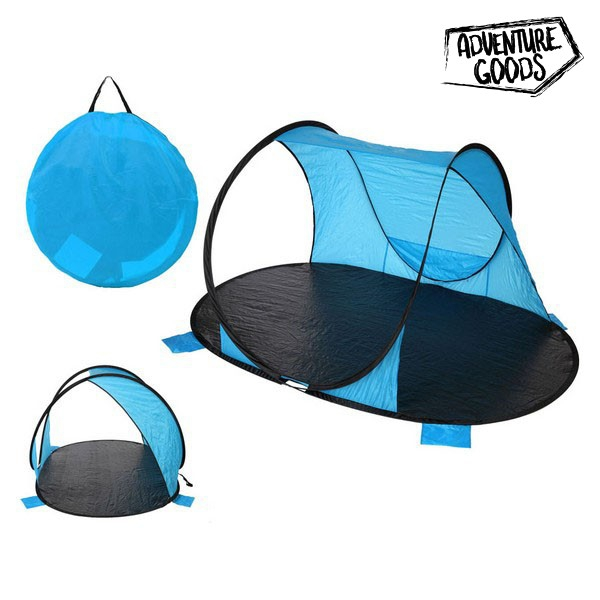 Windbreaker Adventure Goods 25373 (220 x 145 x 110 cm) Blue Black