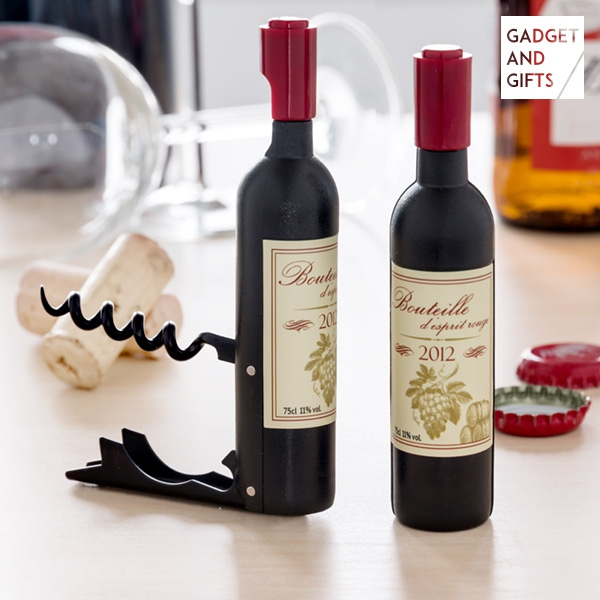 Wine Gadget and Gifts Magnetic Corkscrew and Bottle Opener