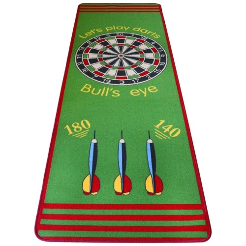 Playing Mat Daring Pattern 79 x 237 cm Green and Red
