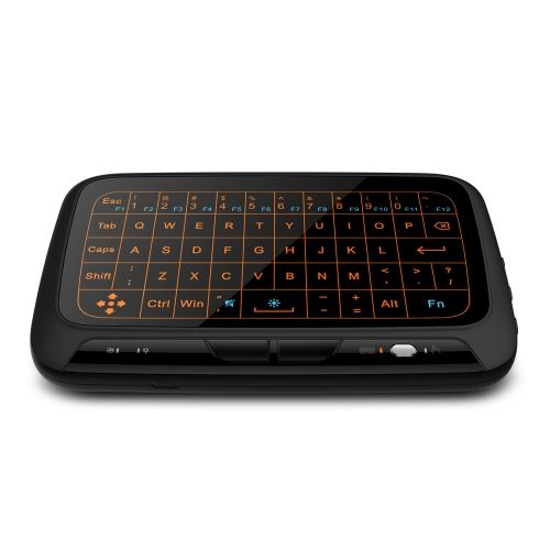 H18+ 2.4GHz Full Touchpad Wireless Backlight QWERT Keyboard