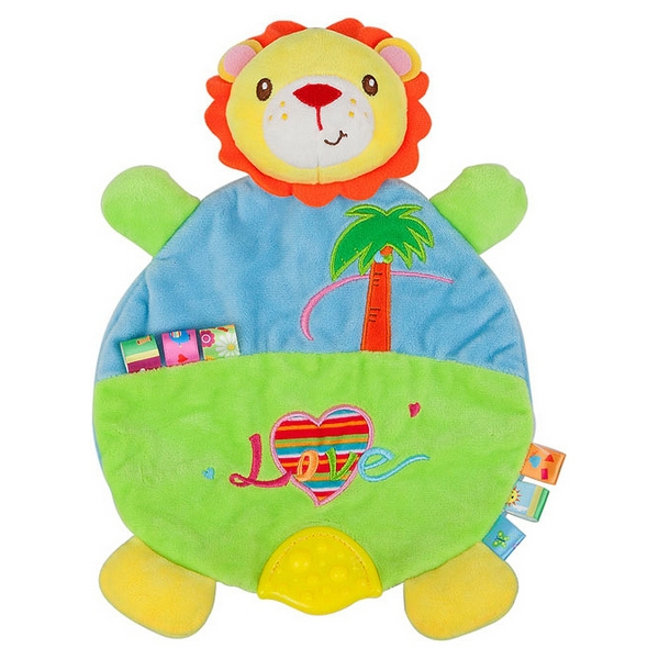 Activity Soft Toy for Babies Nenikos Lion +3m 112153