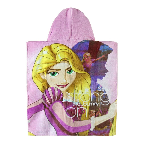 Beauty and The Beast Hooded Poncho Towel