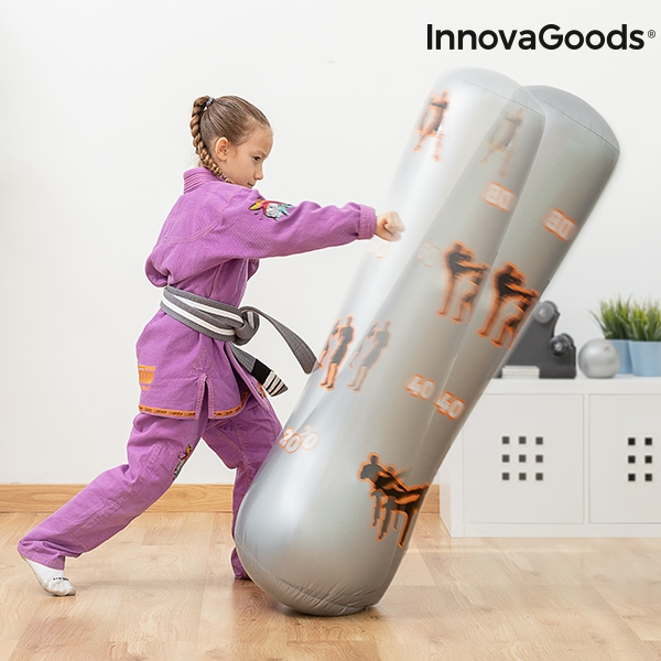 Childrens Inflatable Boxing Punchbag with Stand InnovaGoods