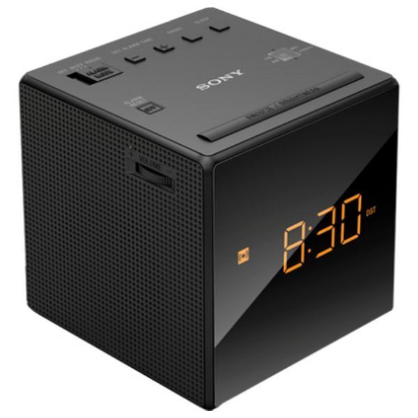 Clock-Radio Sony ICFC1B Black