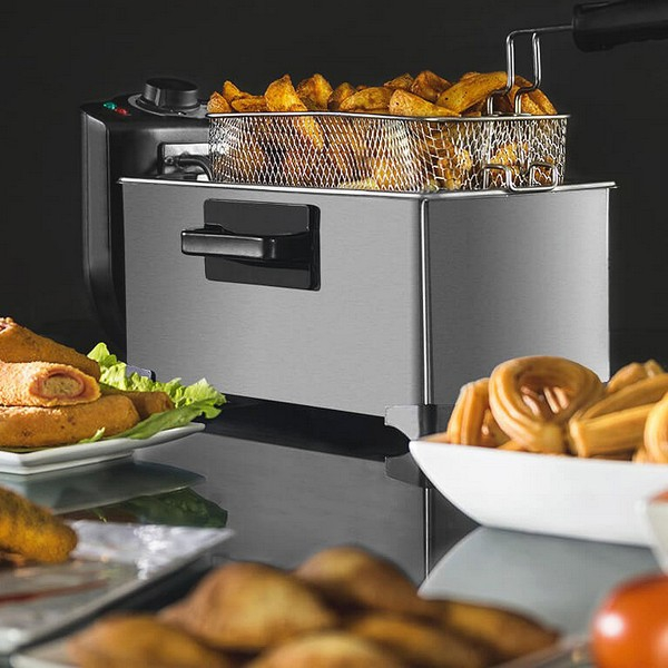 Deep-fat Fryer Cecotec Cleanfry 3L 2000W Stainless steel