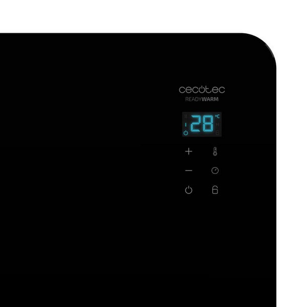 Electric Convection Heater Cecotec Ready Warm 6670 Crystal Connection 1000W WIFI