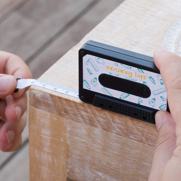 Gadget and Gifts Casette Tape Measure