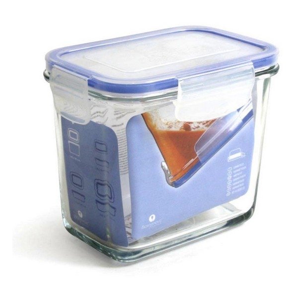Hermetic Lunch Box Borgonovo Transparent