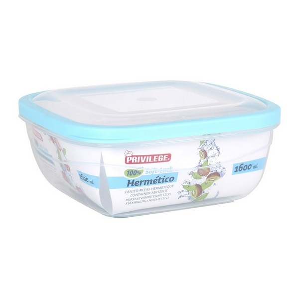 Hermetic Lunch Box Privilege Squared Transparent