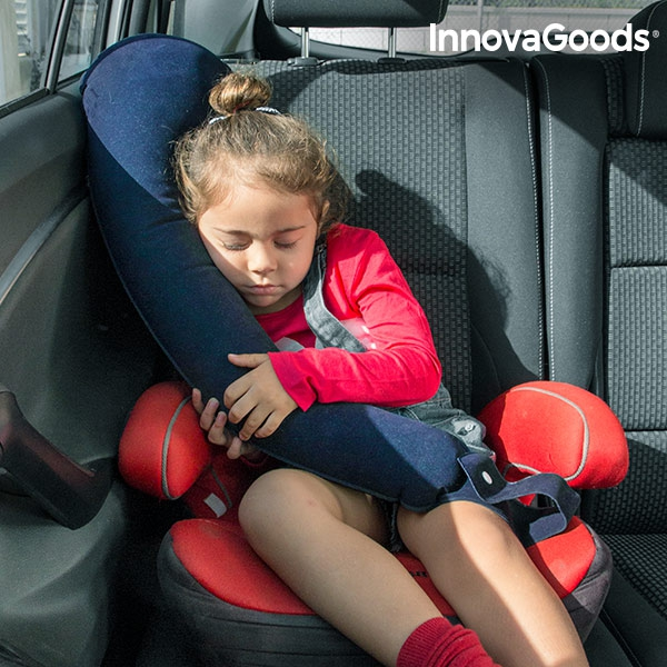 InnovaGoods Adjustable Travel Pillow with Seat Attachment
