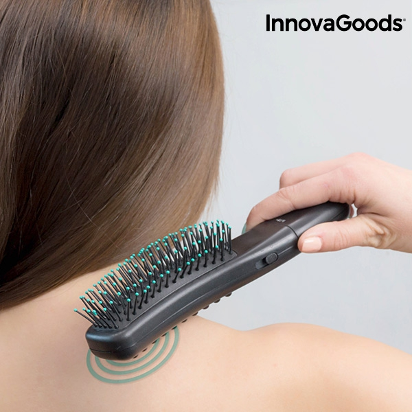 InnovaGoods Vibrating & Stimulating Massager Brush