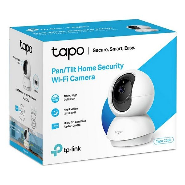 IP camera TP-Link Tapo C200 1080 px WiFi 2.4 GHz White
