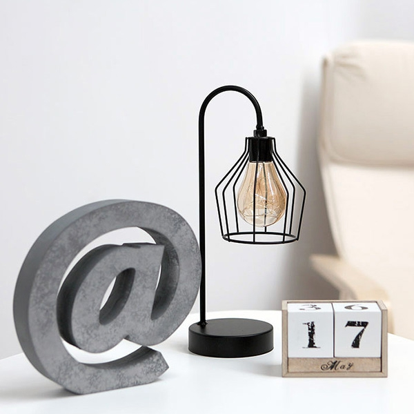 LED Table Lamp Black 112031