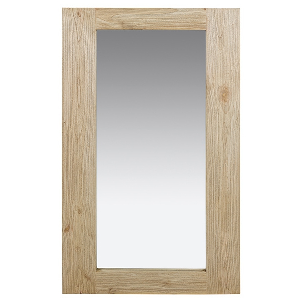Mirror Old Wood (130 x 10 x 80 cm)