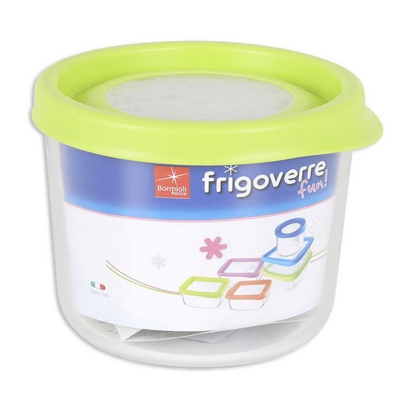 Round Lunch Box with Lid Fun Bormioli (12 x 9,9 cm)