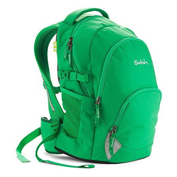 School Bag Eco Ergobag SAT-BAS-001-216 Green