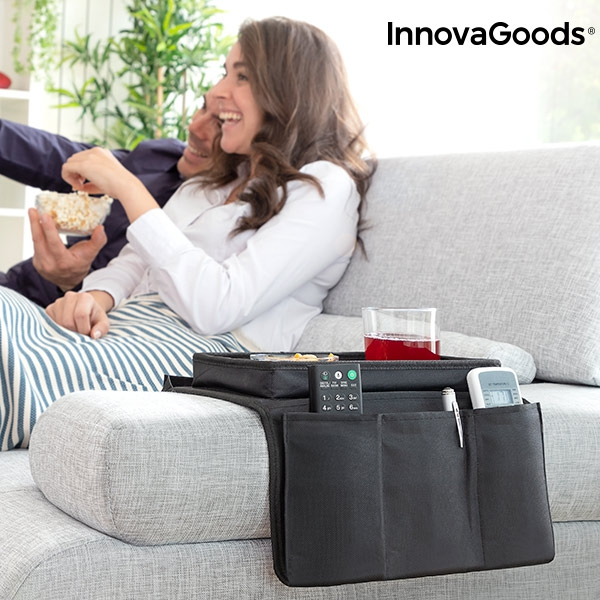 Sofa Tray with Organiser for Remote Controls InnovaGoods
