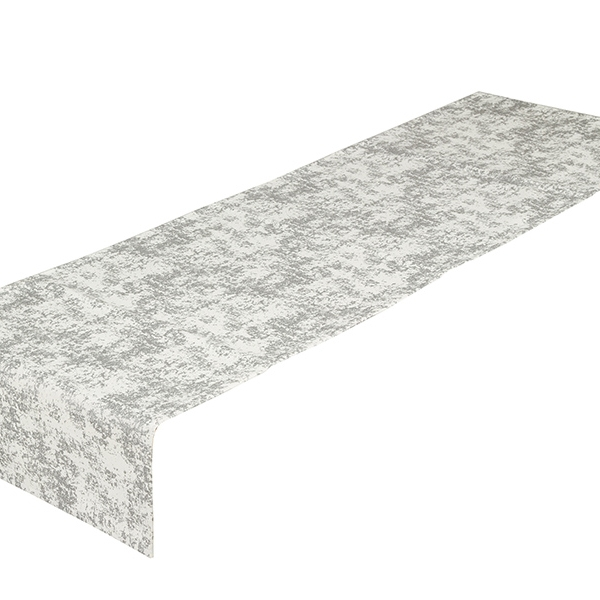 Table Runner (40 x 13 x 0,05 cm) Silver