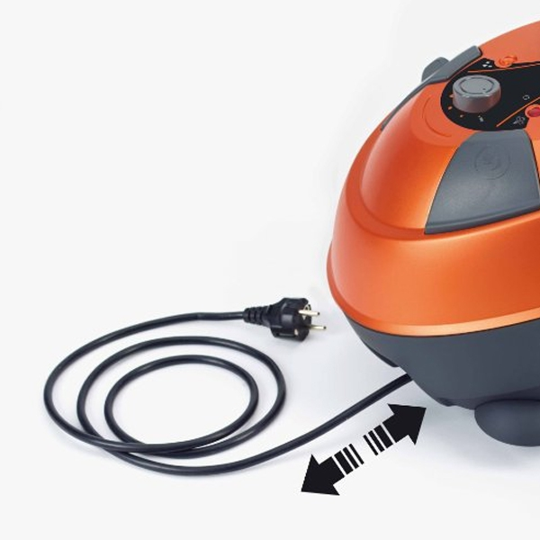 Vaporeta Steam Cleaner POLTI PTEU0224 4.5 BAR 120 g/min 0,75 L 1150W Black Orange